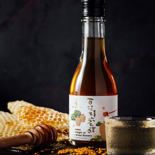 【蜂盒子】自然發酵 百花蜂蜜醋(180ml)