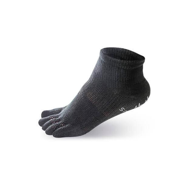 【WALKPLUS】健將五指襪2.0(全黑)