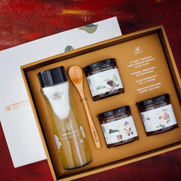 【蜂盒子】自己的蜜茶自己調禮盒組