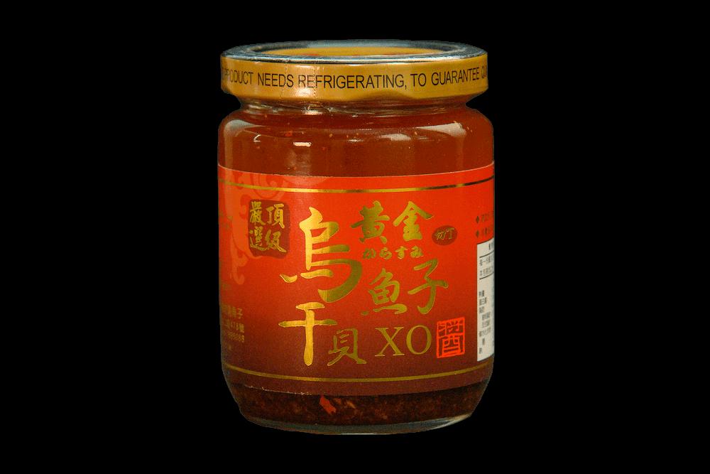 【海中寶】黃金烏魚子干貝XO醬