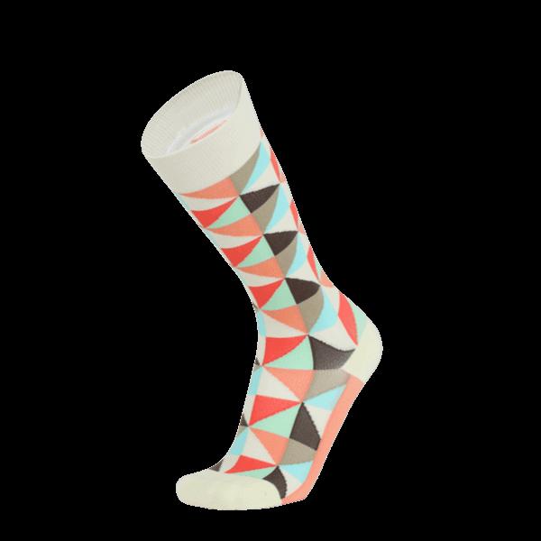 【WALKPLUS】MBJ小腿壓力襪►紐約設計師款(粉黑S)
