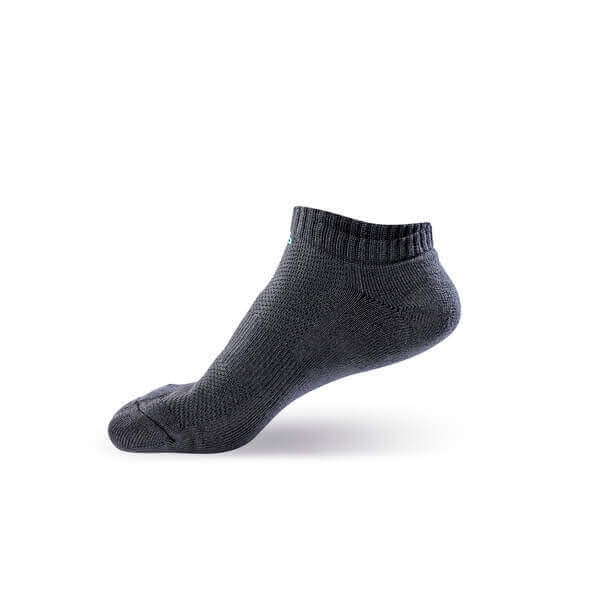 【WALKPLUS】竹炭系列-毛巾厚底船襪(S)
