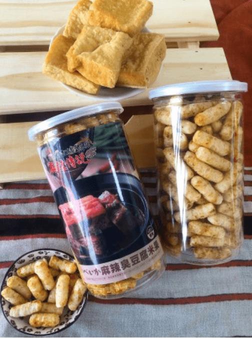 【媽祖埔豆腐張】麻辣臭豆腐口味米果(素食)