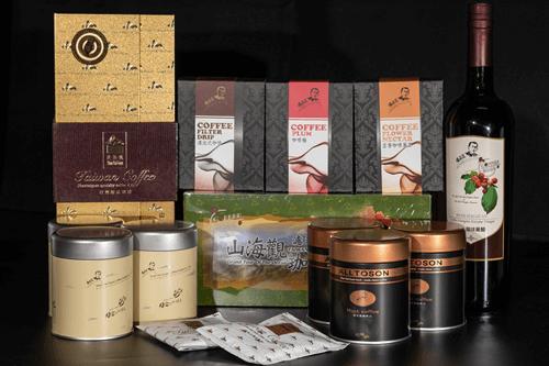 山海觀咖啡莊園古坑精品咖啡禮盒